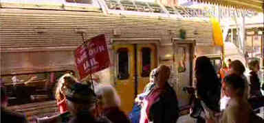 Video: Fight continues against cutting heavy rail