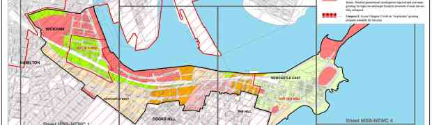 Mine subsidence maps: Why would they close Newcastle Rail line?