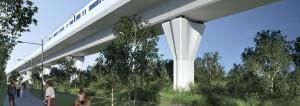 Skytrain viaduct