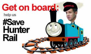 Save Hunter Rail: Get on board (Maitland Mercury)