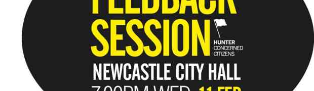 Newcastle Town Hall meeting - Wed 11 Feb 2015 @ 7pm