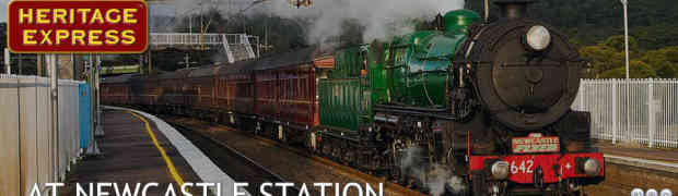 Event: FULL STEAM AHEAD - October long weekend Newcastle Station and Foreshore