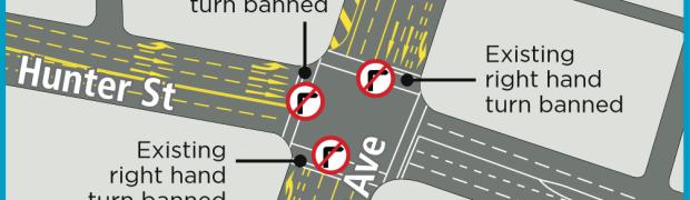 Wickham interchange traffic chaos